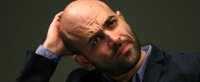 """Poliziotto """"azzera"""" Saviano: """"Per lui gli uomini in divisa non esistono"""""""