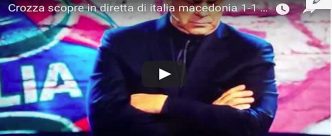 Crozza imita Ventura: sul ct e sugli azzurri, non ci resta che ridere (VIDEO)