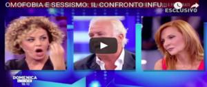 """Predolin si """"inginocchia"""" al politically correct gay: e dalla D'Urso chiede scusa a tutti (VIDEO)"""