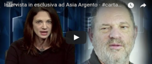 Hollywood, cade la testa del N.1 di Amazon Studios. Asia Argento fugge a Berlino (Video)