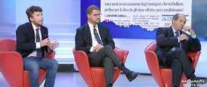 """""""Mani pulite colpo di Stato"""": Fusaro fa imbufalire Antonio Di Pietro (video)"""