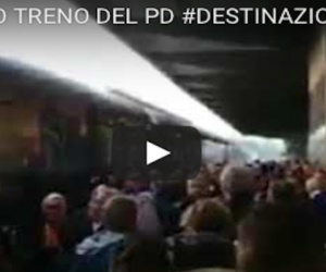 «Buffone, Pinocchio»: flop del viaggio di Renzi, continuano le contestazioni in ogni stazione (Video)
