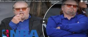 Jack Nicholson 80enne, paparazzato come non si dovrebbe. Ma nonostante tutto…(VIDEO)