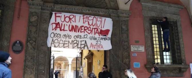 Bologna, i centri sociali scatenano la guerra: «Fuori i fascisti dall'università»