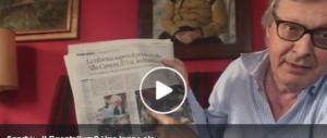 """La pacata critica di Sgarbi al Rosatellum: """"Una legge del ca…"""" (video)"""