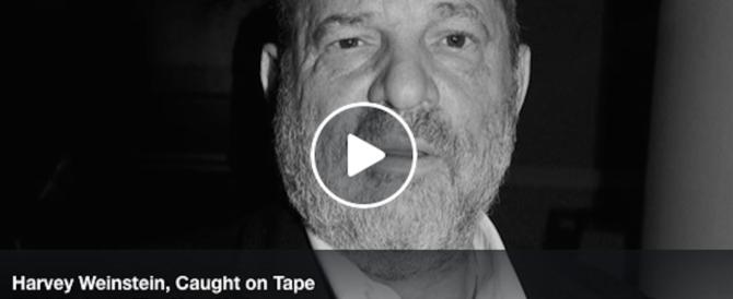 """Lo """"stupratore"""" delle dive Weinstein fu registrato: «Io tocco sempre il seno» (audio)"""
