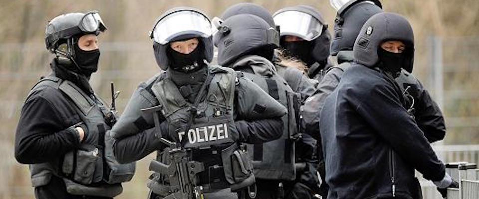 berlino polizia tedesca