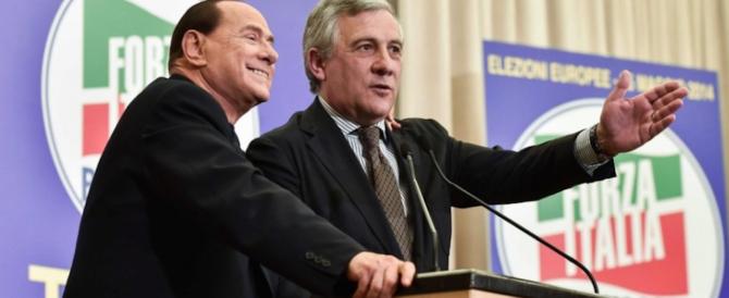 Berlusconi lancia Tajani: «Se vinciamo potrebbe essere lui il nostro premier»