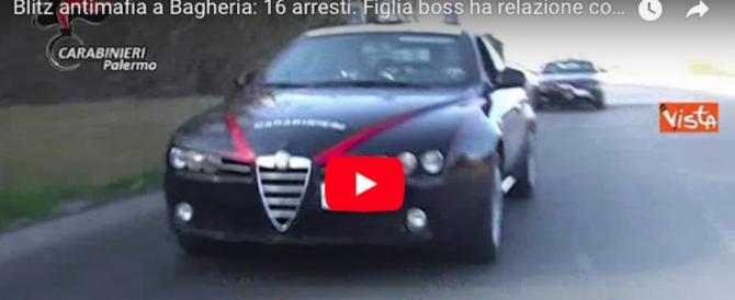 L'ordine del boss di Bagheria al figlio: «Tua sorella è una sbirra, uccidila» (video)