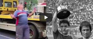 Dalla Coppa Uefa ai semafori di Roma: ecco l'ex calciatore in azione (video)