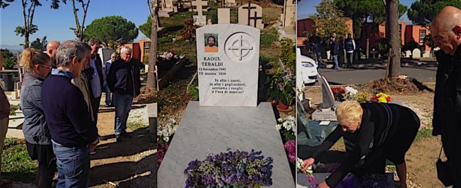 Ciao negus raoul tebaldi ricordato oggi al cimitero - Cimitero flaminio prima porta ...