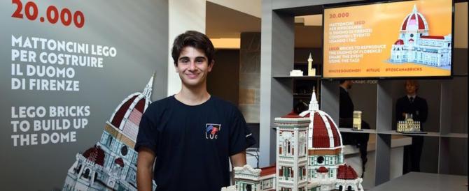 Diventa virale il video del Duomo di Firenze fatto di Lego (video)