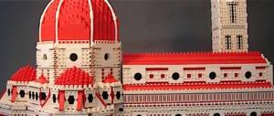 Effetto Titanic? Gran folla per il Duomo di Firenze da 20mila mattoncini Lego