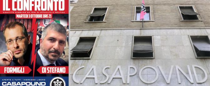 Dopo Mentana, arriva Formigli a confrontarsi con CasaPound (video)