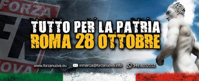 Forza Nuova non recede: marcia su Roma il 28 ottobre. Minniti la vieta