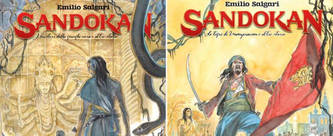 Sandokan e le sue tigri della Malesia di nuovo protagonisti. In un fumetto