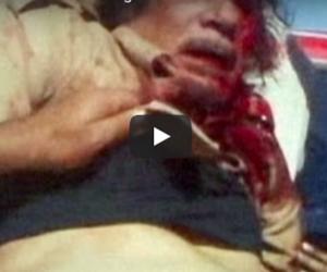 Sei anni fa il linciaggio di Gheddafi (video). Un regalo all'Isis e agli scafisti…