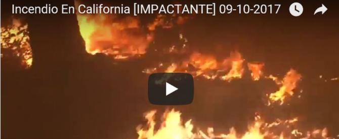 California in fiamme, è strage: molte vittime e 20mila evacuati (video)