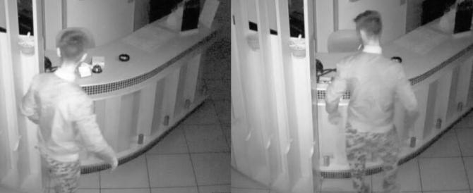 """«Questa immondizia fa il ladro negli hotel». Svergognato su Fb il """"topo"""" albanese"""