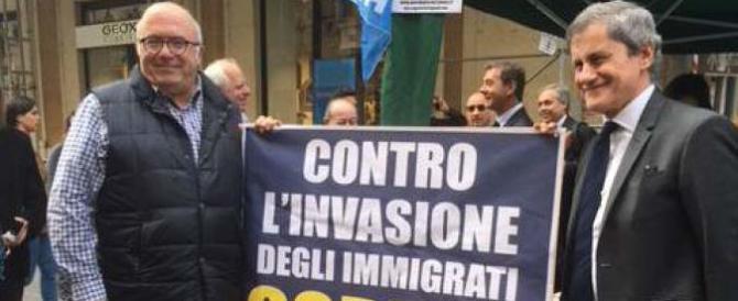Alemanno e Storace: «In piazza per il lavoro e contro l'invasione degli immigrati»