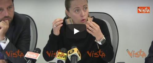 Meloni: «Roma razzista verso gli italiani, lo dimostrano i numeri» (Video)