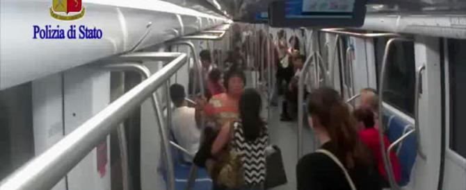 Pestarono madre e figlio in metro a Roma: chiesti 40 anni per il branco (video)