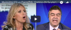 La Mussolini a Fiano: «Cretino chi ha fatto la legge antifascista» (video)