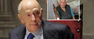 Nonna Peppina, 95 anni, sfrattata. Nonno Napolitano, 92 anni, tornato in politica…