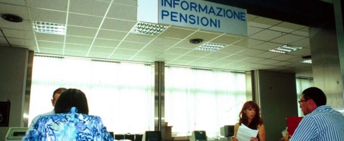 Pensioni, il piano del governo per fregare gli italiani senza prendersi colpe