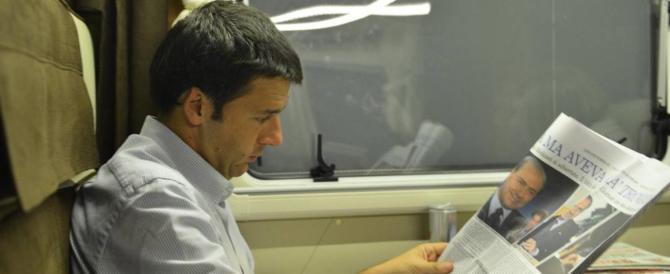 """Il treno dell'ascolto di Renzi? Meloni: """"Sì, ascolto degli insulti…"""""""