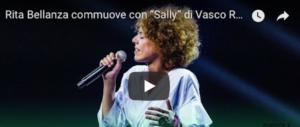 """X Factor, Rita Bellanza commuove tutti con """"Sally"""". E Vasco la chiama (video)"""