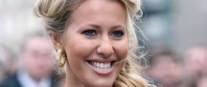 Russia, sarà una bella bionda 36enne a sfidare Putin: chi è Ksenia Sobchak