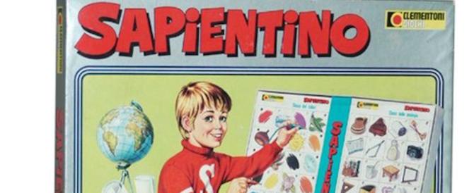 Rivoluzionò il mondo dei giochi: Sapientino compie 50 anni