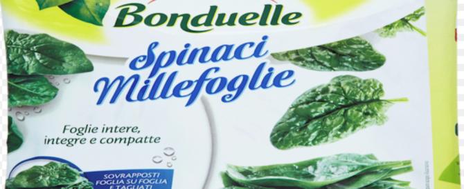 """Allarme spinaci, 5 intossicati per un'erba velenosa: """"Bonduelle"""" ritira le buste"""