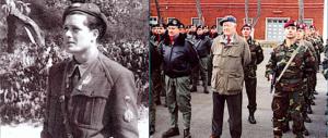 """L'ultimo """"salto"""" del tenente parà della Rsi Tomasina, morto a 96 anni"""
