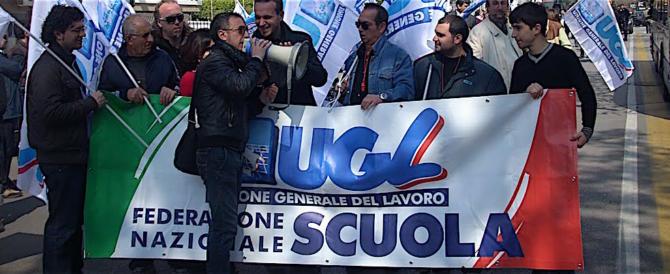 L'Ugl denuncia: la scuola non deve essere intesa come un parcheggio