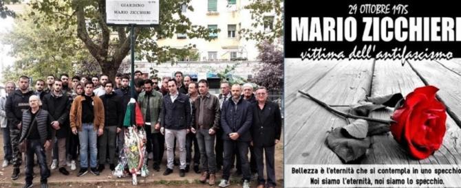 Il Prenestino ricorda Mario Zicchieri. Gasparri: giustizia negata, vergogna