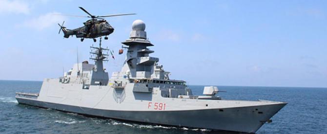 La Marina militare italiana sventa un attacco pirata al largo della Somalia