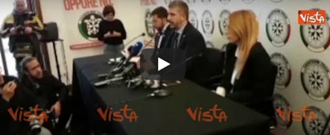 Di Stefano (CasaPound): «Spada? Minniti indaghi pure sul voto di scambio…» (video)
