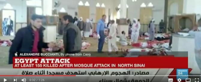 Egitto, attentato alla moschea: salgono a 305 i morti. Tra loro 27 bambini (Video)