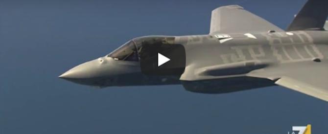 Svelati i segreti degli F35 italiani: ecco perché sono così micidiali (video)