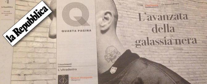 """""""Repubblica"""": «Dalli al fascista». Ricomincia la caccia alle streghe"""