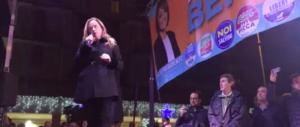 Meloni a Ostia: «Non accettiamo lezioni di legalità da nessuno» (video)