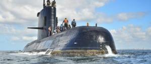 Sette tentativi di chiamate dal sottomarino scomparso, l'Argentina spera