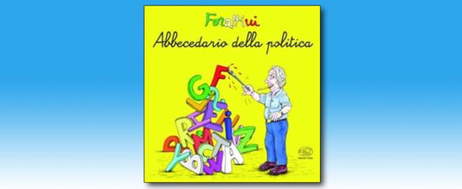Il nuovo libro di Forattini, un'antologia satirica sui politici lunga 50 anni