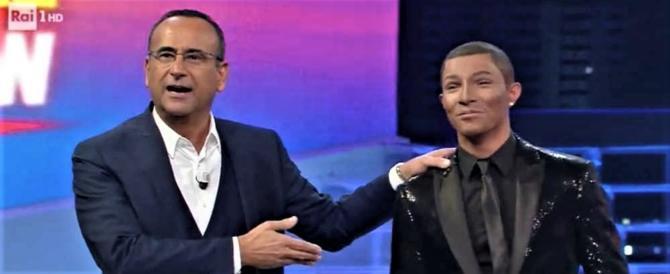 """Il cantante sardo Marco Carta vince il """"Tale e Quale Show 7"""""""