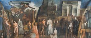 All'Università di Roma svelato il Sironi originale che celebra arti e scienze