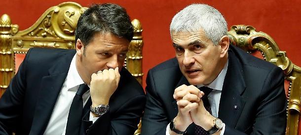 Banche, incontro a porte chiuse tra Renzi e Casini: è bufera