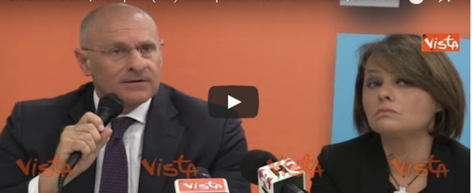 """Ostia, Rampelli: «La Raggi perde metà elettorato. E """"crollo Oppio""""» (video)"""