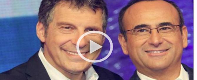 Giallo sul web, Conti annuncia in tv il ritorno a casa di Frizzi: ma manca la conferma (VIDEO)